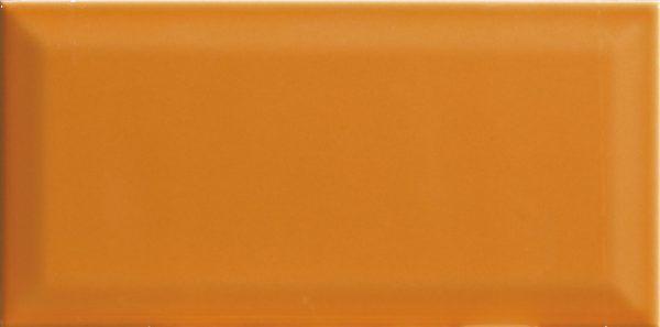 colores biselados naranja