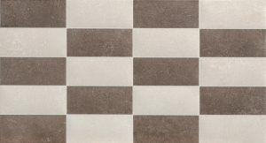 azulejo 25x50 marron estrato