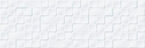 azulejo 30x90 relieve blanco